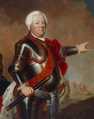 Friedrich Wihelm I. von Preußen 1733