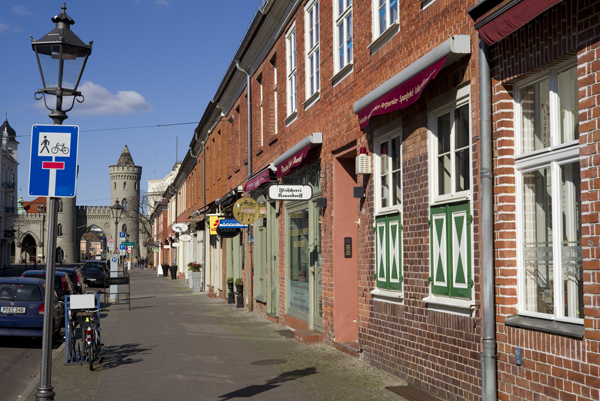 Geschäfte in der Ebertstraße