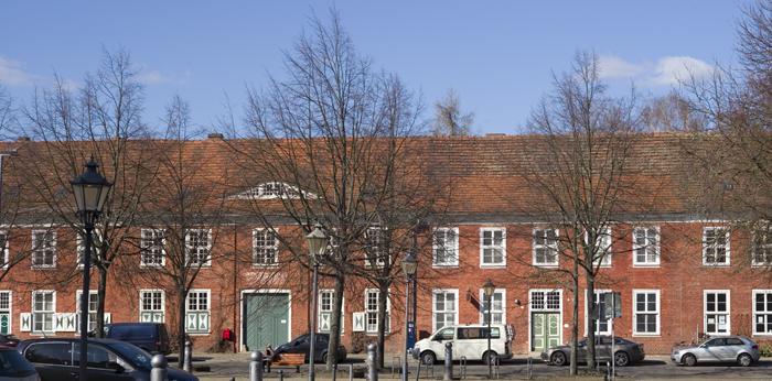 Häuserzeile Holländisches Viertel